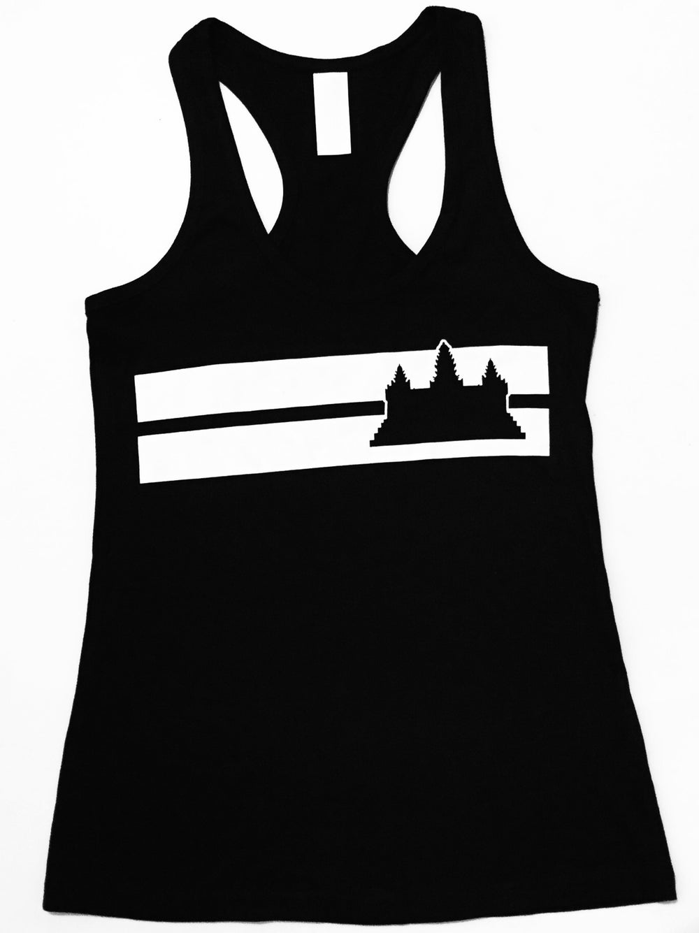 Image of Ladies RC Angkor Wat Double Stripe Tank
