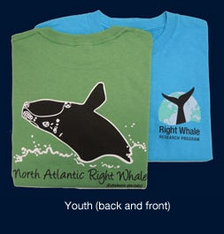 Image of Youth Right Whale T-Shirt