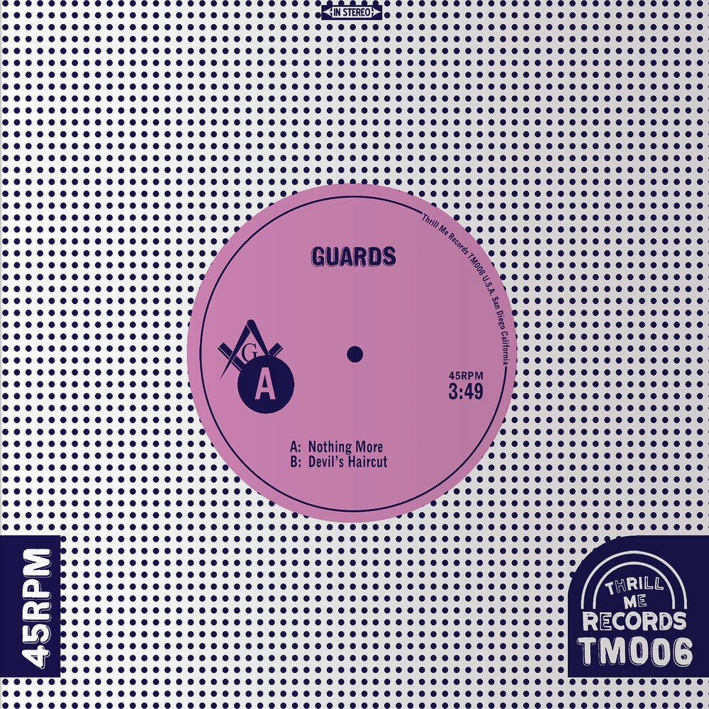"Image of Guards – Nothing More (7"")"