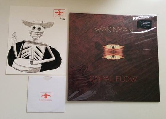 Image of WAKINYAN - Copal Flow LP+DVD + Painting [ltd.54 ART Edition]