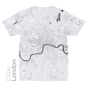 Image of London map t-shirt