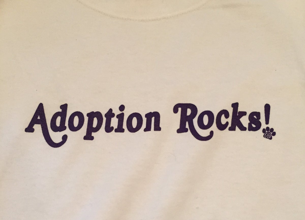 Image of Adoption Rocks! Kids T-shirt