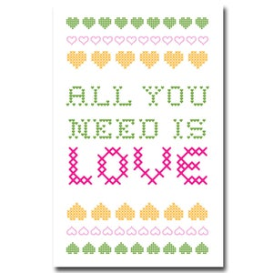 Image of love print