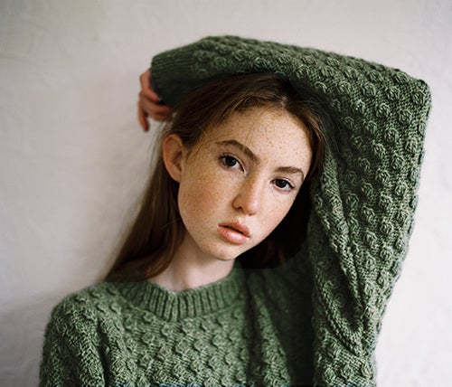 Image of Bobble Jumper Green