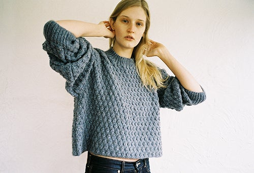 Image of Bobble Jumper Blue