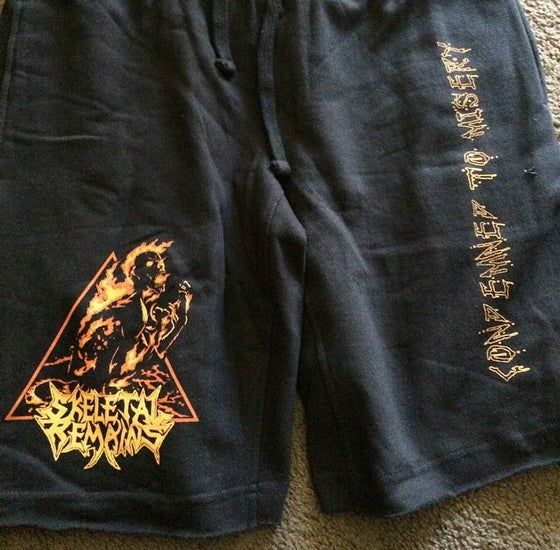 Image of Condemned To Misery Jam Shorts