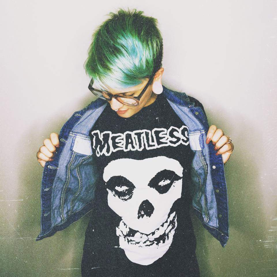 Image of Meatless Skull Tee