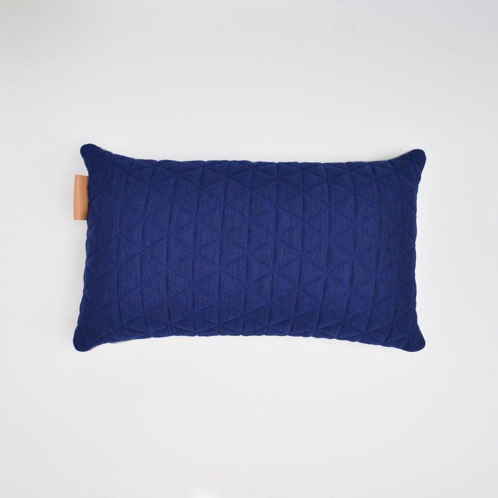 Image of Kumo Cushion Cover - Sapphire Blue Lumbar