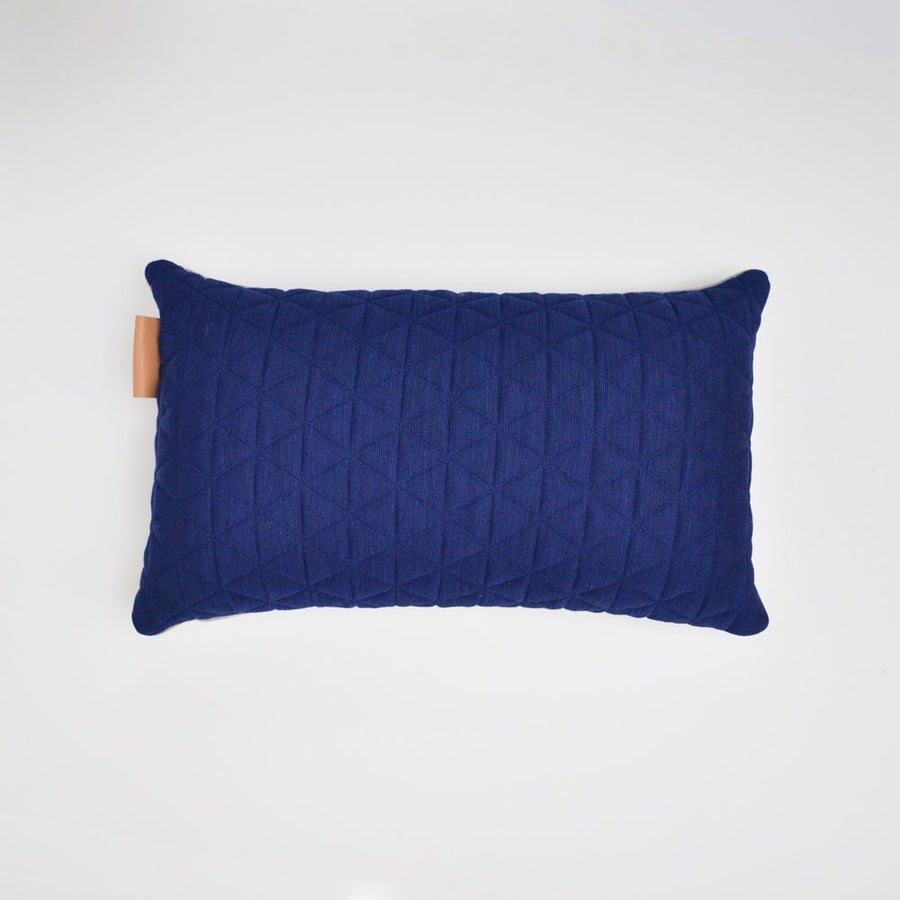 Image of Kumo Cushion Cover - Sapphire Blue Lumbar