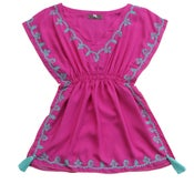 Image of Mane Hot Pink Kaftan