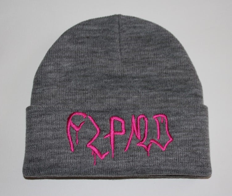 Image of Drips Beanie - Grey