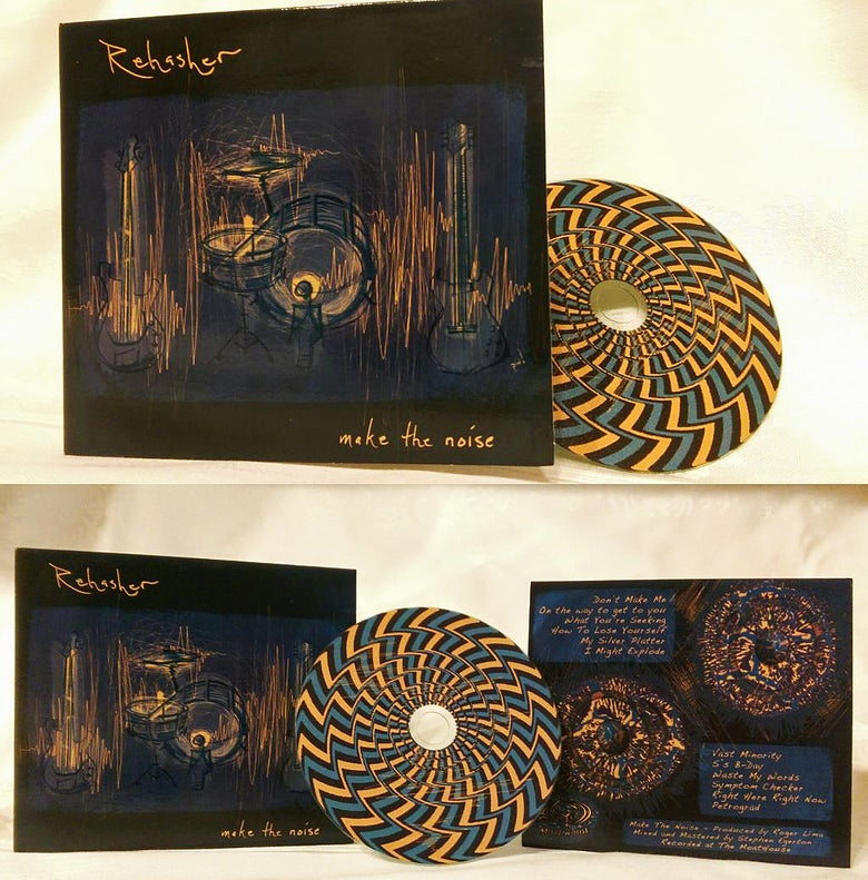 "Image of ""Make The Noise"" CD"