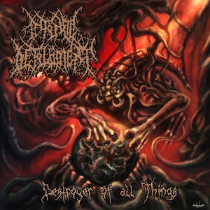 Image of INFINITE DEFILEMENT 'Destroyer of all Things'
