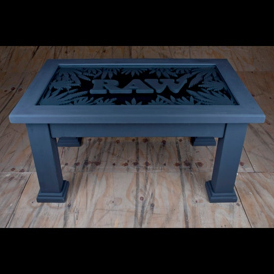Image of Custom Made Raw Coffee Table
