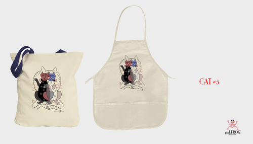 Image of CAT#5 (tee/undie/youth tee/toddler tee/baby onesie/tie/tote bag/apron/print/framed art)