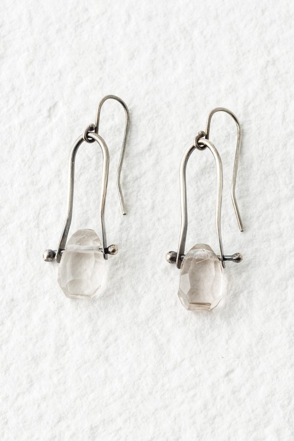 Image of Silver and Ice Earrings