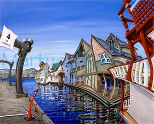 Image of Fisherman's Wharf Limited Edition Giclee
