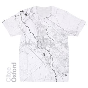 Image of Oxford map t-shirt