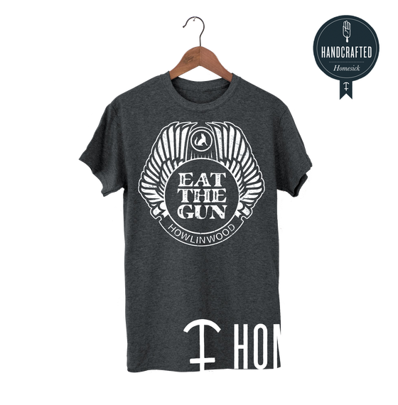 Image of Fair Trade T-Shirt: HOWLINWOOD by: homesick-merch.de