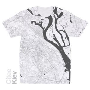 Image of Kiev map t-shirt