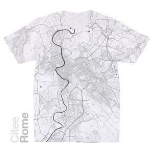 Image of Rome map t-shirt