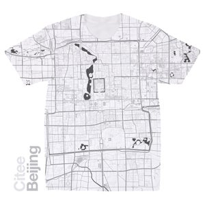 Image of Beijing map t-shirt