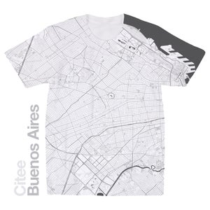 Image of Buenos Aires map t-shirt