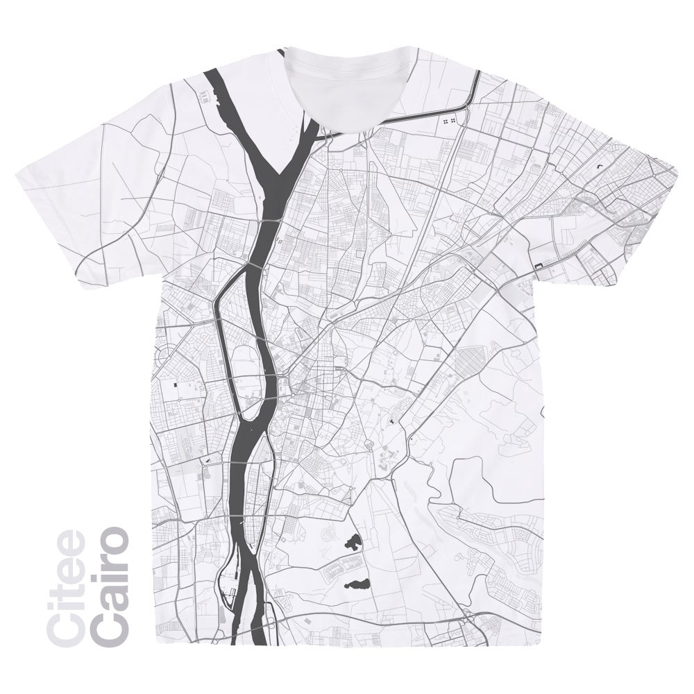 Image of Cairo map t-shirt