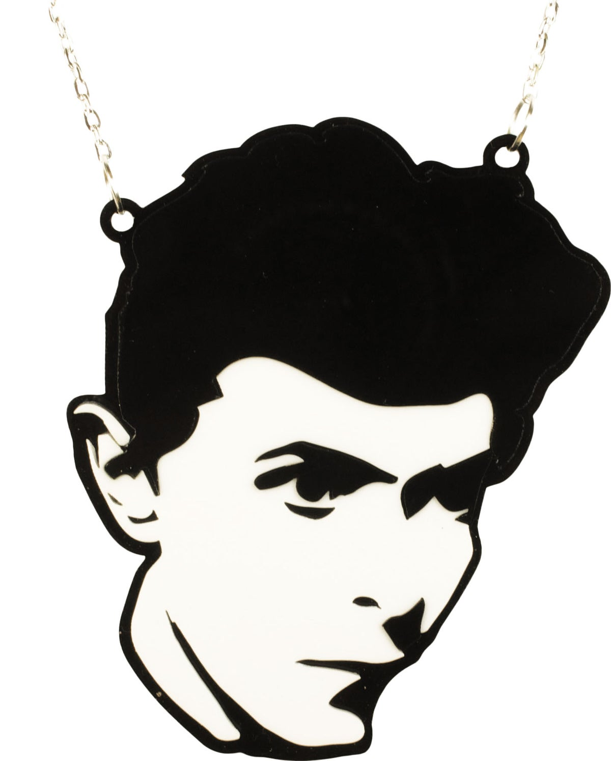 Image of David Bowie Heroes Necklace