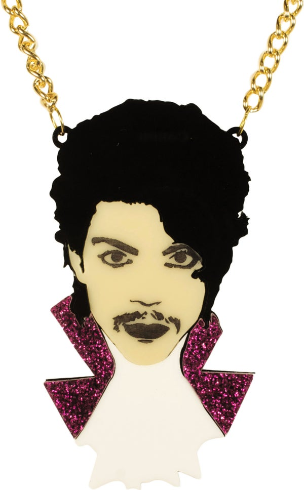 Prince Purple Rain Necklace  - Black Heart Creatives