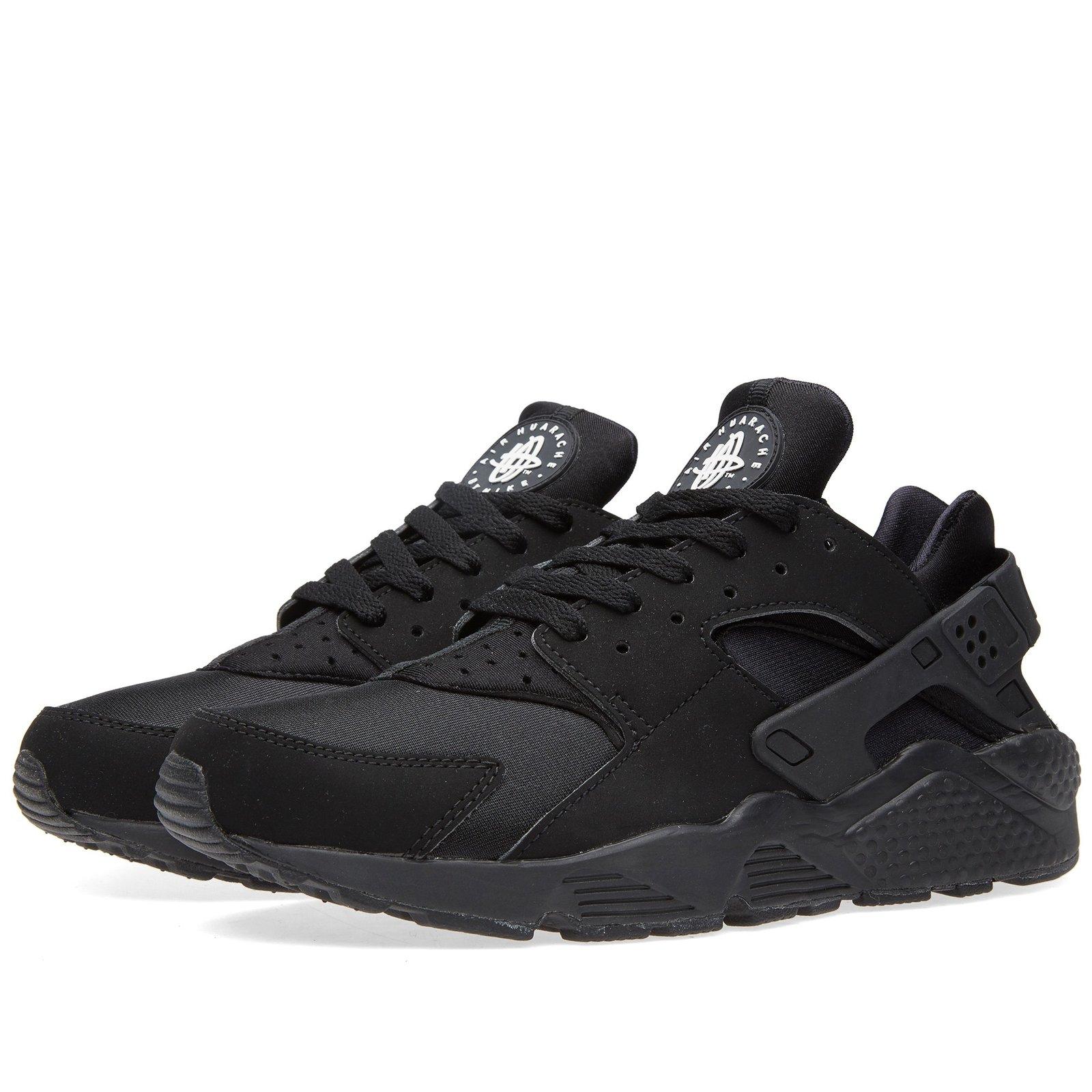 Nike Air Huarache Triple Black GENUINE   MrDoogers