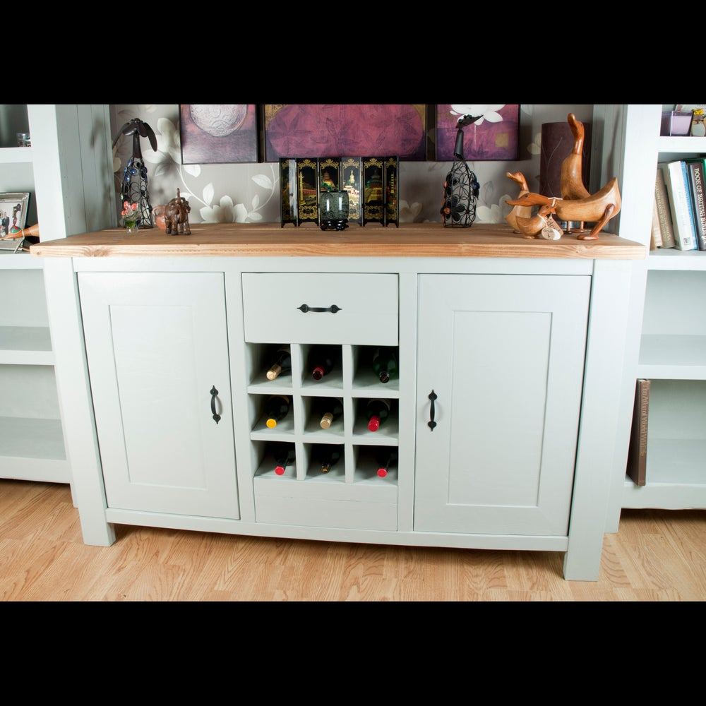 Image of Sideboard with bottle rack