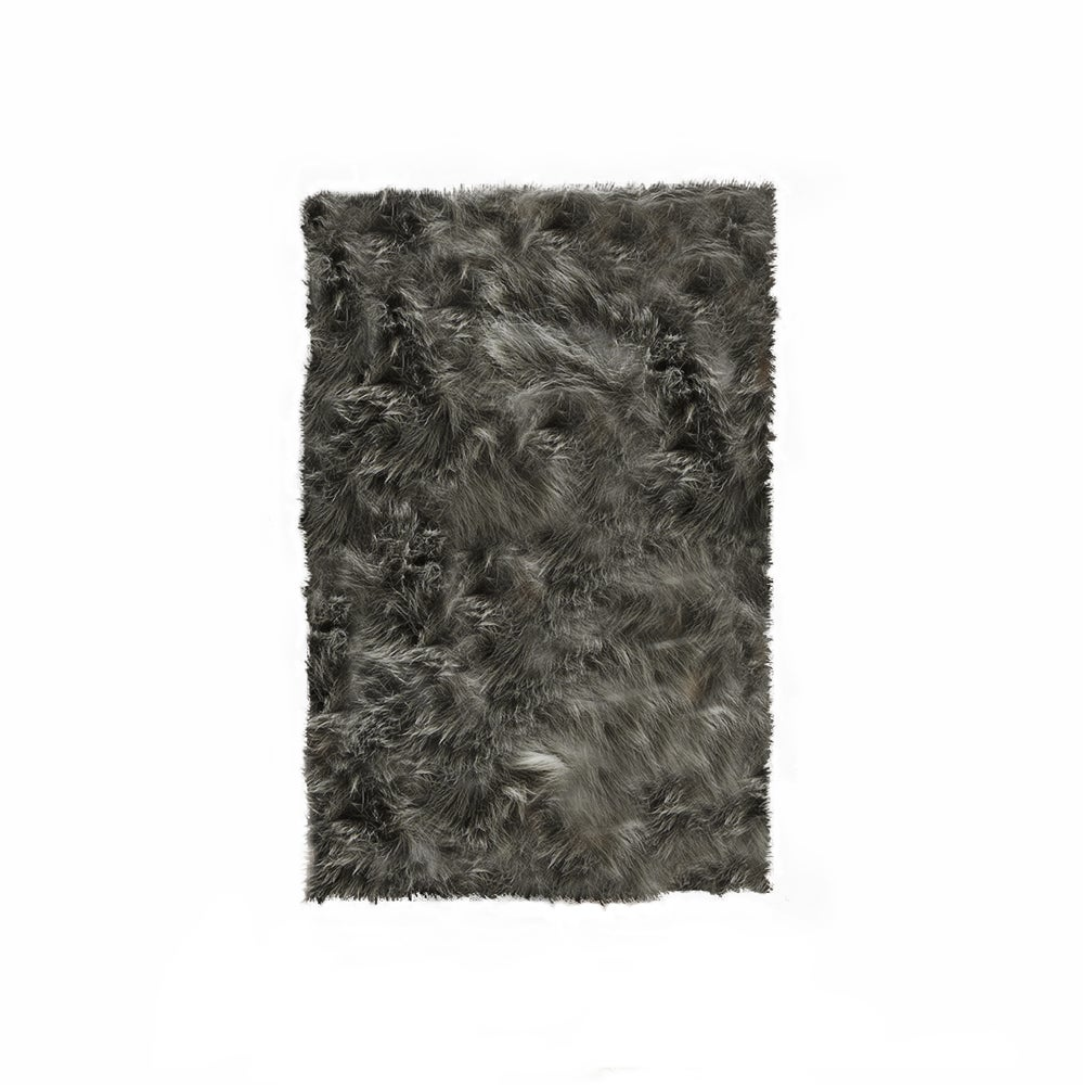 Image of Hudson Gray Faux Sheepskin