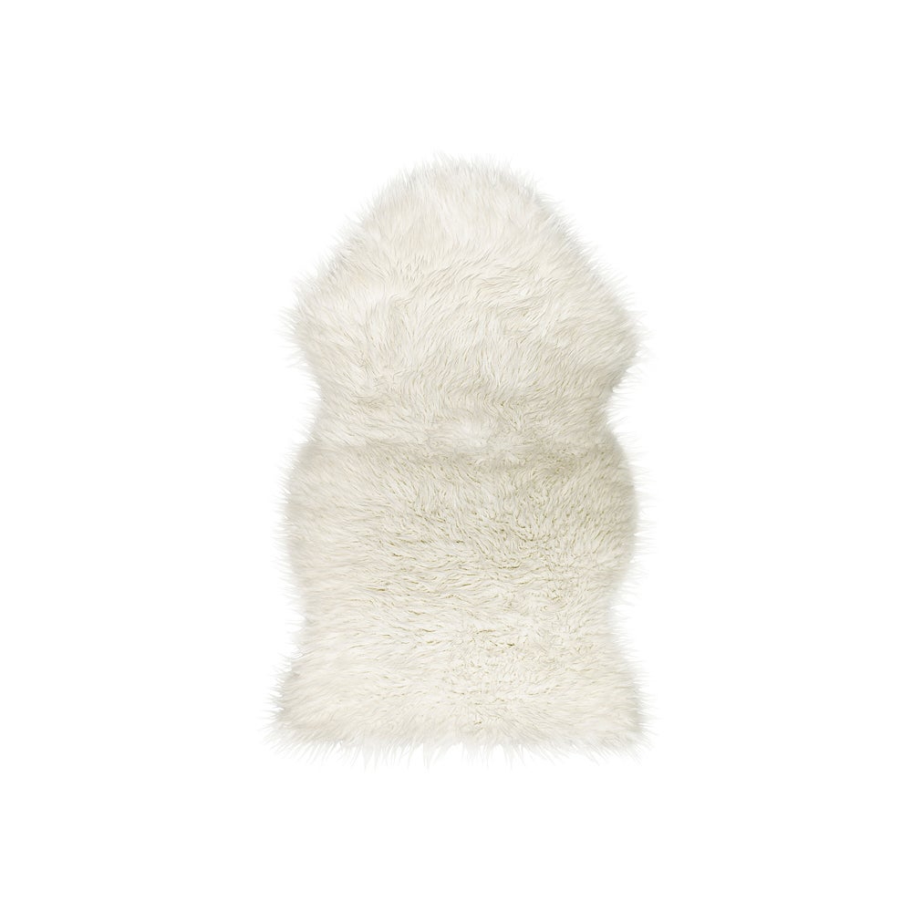 Image of Royale Gordon Offwhite Faux Sheepskin