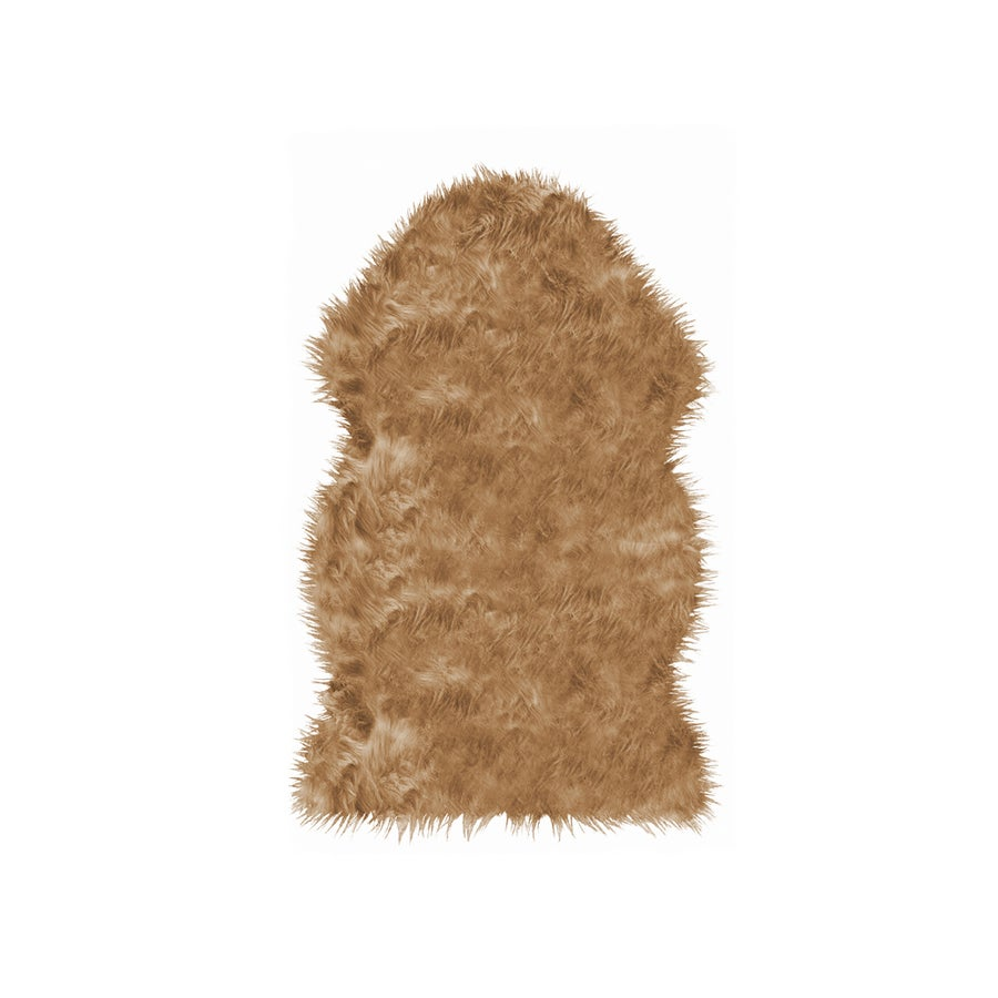 Image of Gordon Tan Faux Sheepskin