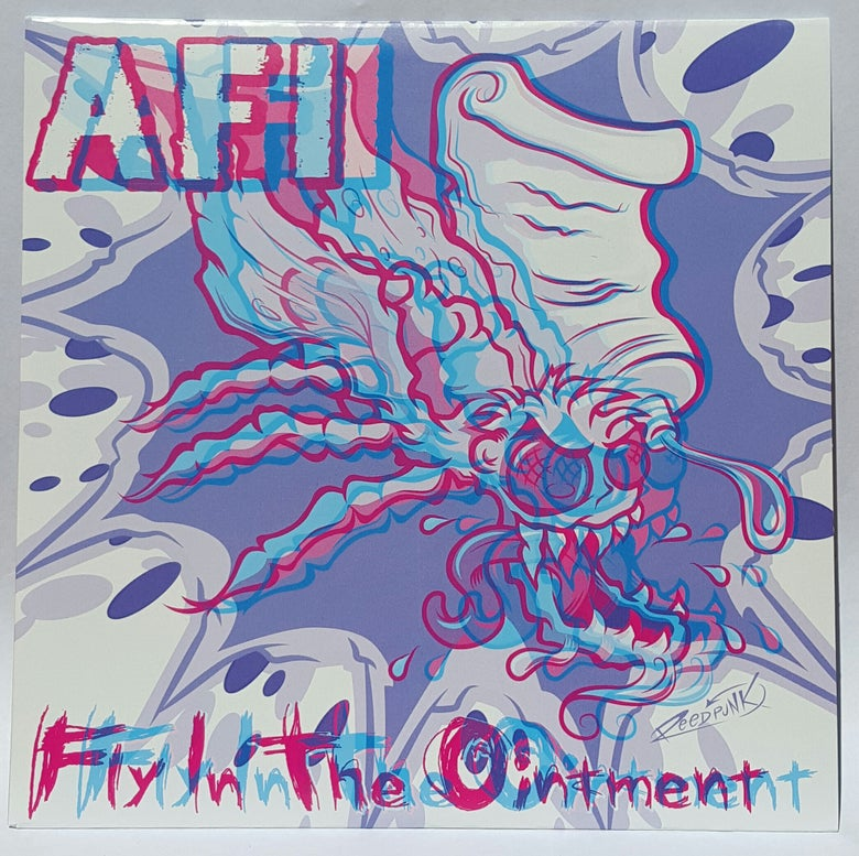 "Image of WEDGE #1  AFI ""Fly in the Ointment"" 7"" 3-D Edition!"