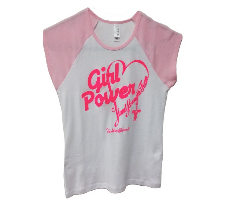 Image of Girl Power Short Sleeved T-Shirt