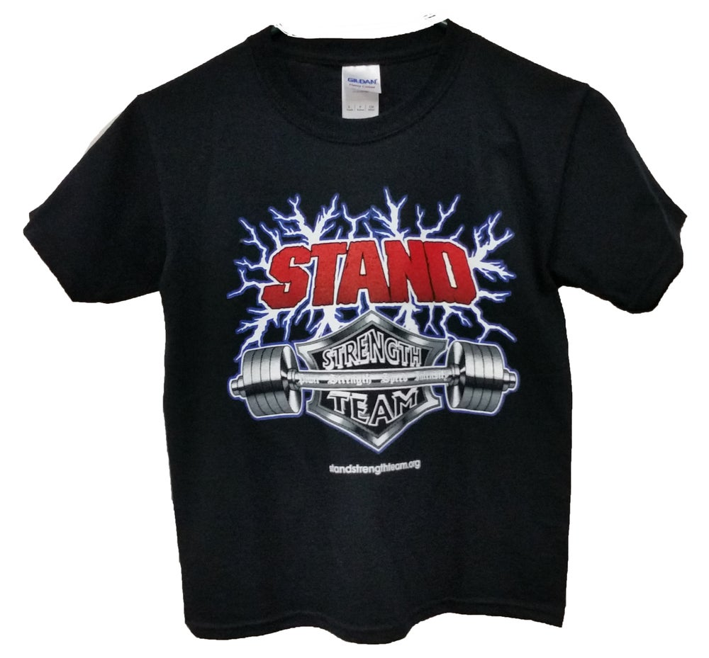 Image of Youth Classic STAND Strength Team Short Sleeved T