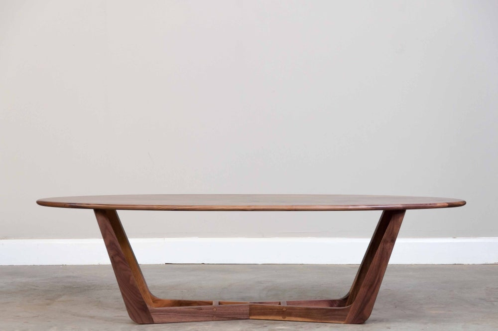 Image of Walnut coffee table