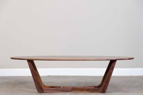 Image of Walnut coffee table