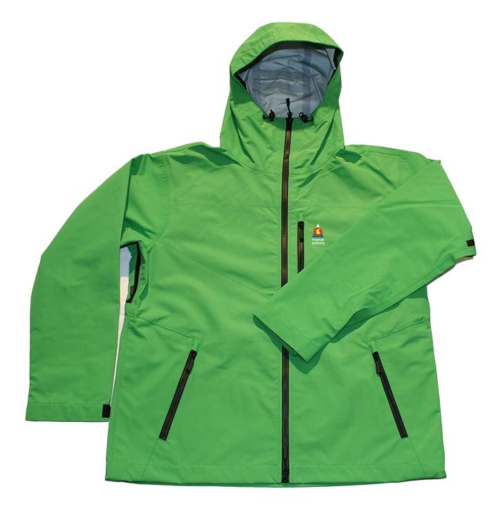 Image of Antero 3 Polartec Neoshell Hardshell Laminate Ski Jacket Green