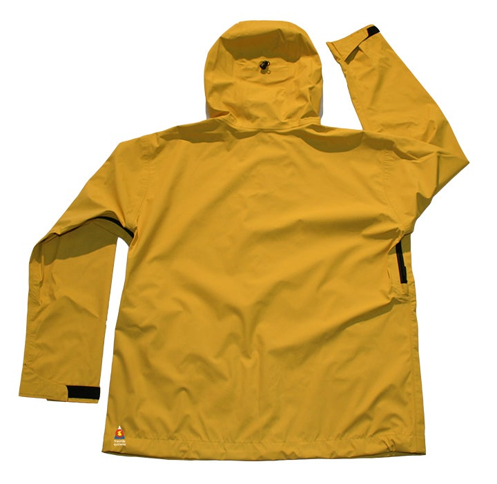 Image of Antero 3 Polartec Neoshell Hardshell Ski Jacket Bright Yellow