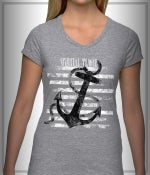 "Image of ""Anchor"" T-Shirt Gray"
