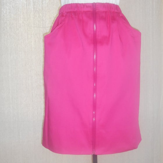 Image of Hot Pink Sit 'n' Zip Skirt