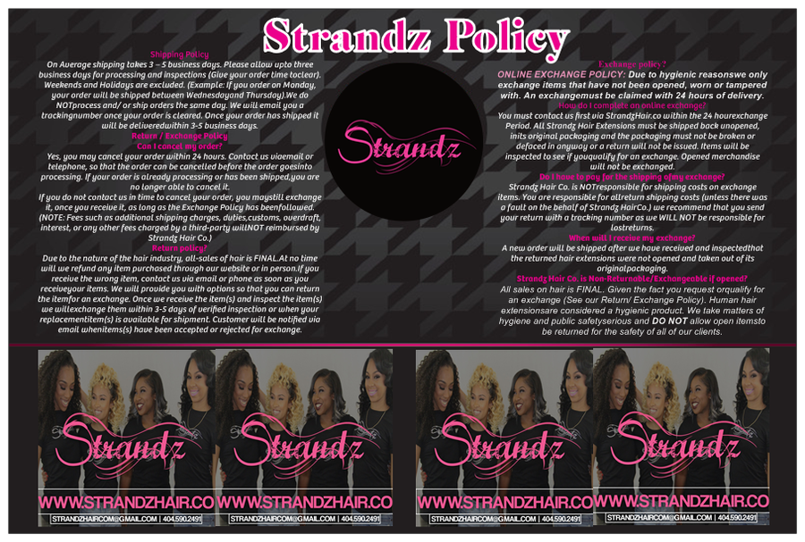 Image of Strandz Policy's