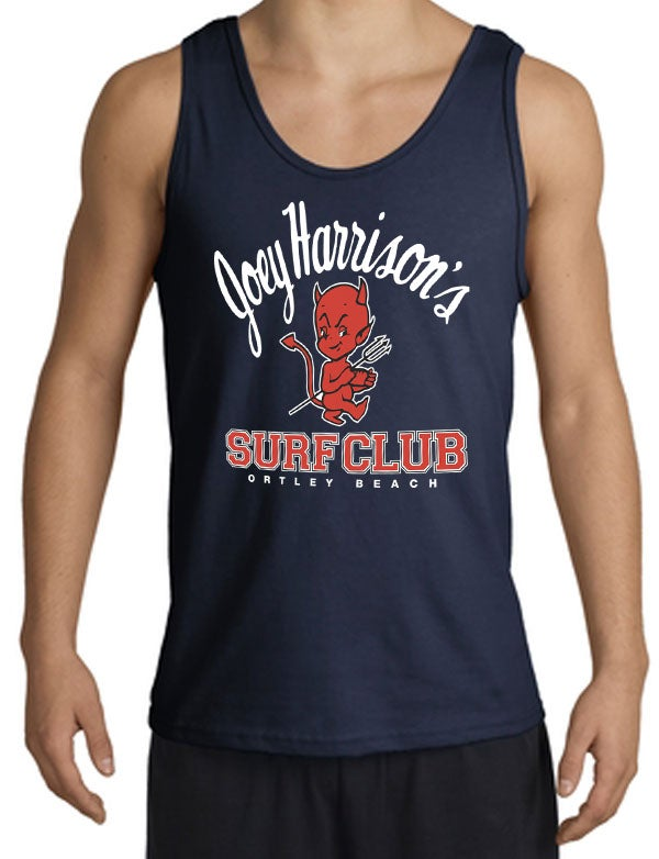Image of Men's Tank Navy Blue