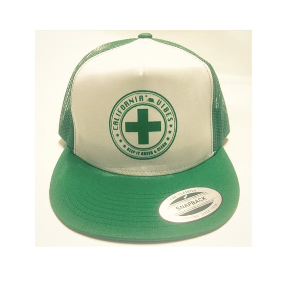 Image of KEEP IT GREEN & CLEAN - SNAPBACK TRUCKER HAT