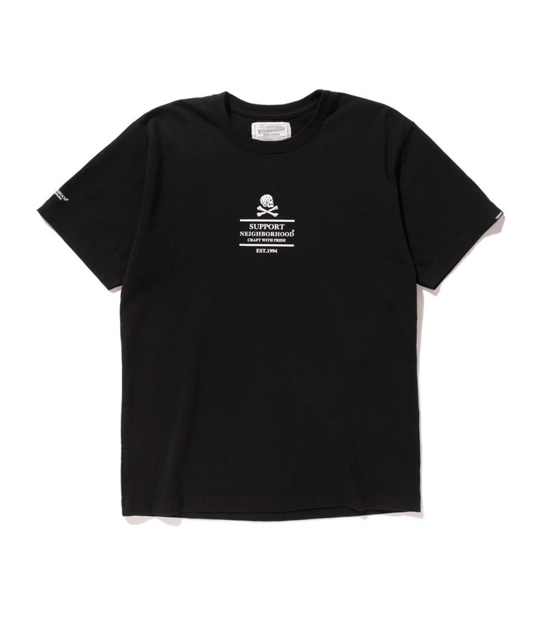Image of Neighborhood - Classic Flag Tee (Black)