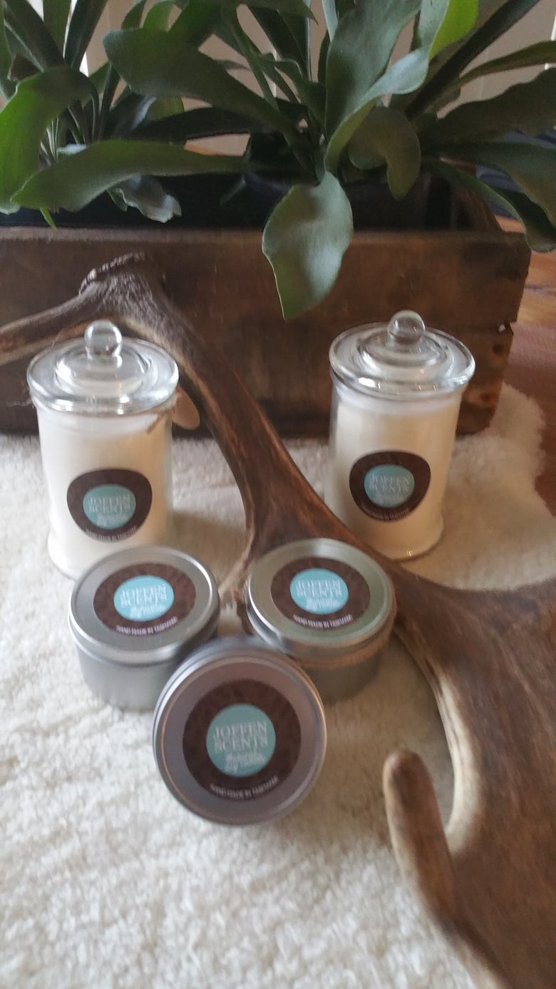 Image of Joffen Scents Small Soy Candles
