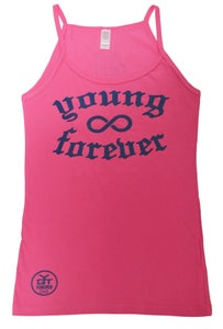 Image of YGT Classics: Medieval Women's Tank Top (Pink & Purple)